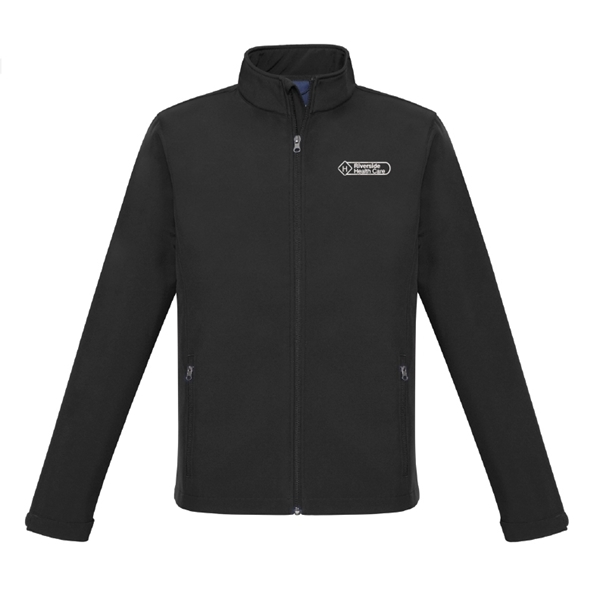 Picture of Riverside Health Care Jacket (Black - One Colour Logo)